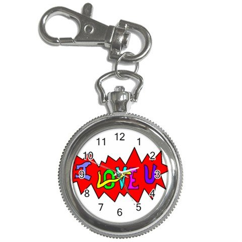 I Love U Key Chain / Pocket Watch