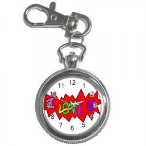 I Love U Key Chain / Pocket Watch