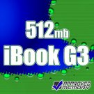 512MB RAM Memory Apple iBook Flat Panel G3 500MHz 600MHz 700MHz 800MHz 900MHz
