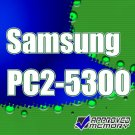Samsung 2GB SODIMM PC2-5300 667MHz Laptop Notebook Memory Module