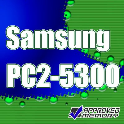 Samsung 2GB (2 x 1GB) SODIMM PC2-5300 667MHz Laptop Notebook Memory Kit