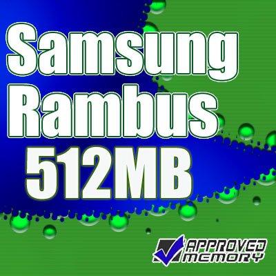 Dell Dimension 8250 512MB 2x256MB 184pin Rambus RIMM Memory Kit