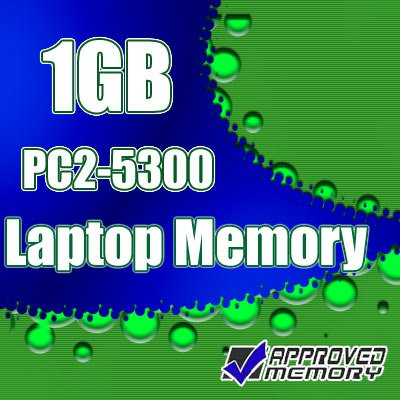 1GB RAM DDR2 Laptop Memory TOSHIBA SATELLITE A135-S7404