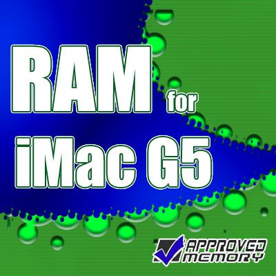 "2GB DDR RAM Memory Kit for Apple iMac G5 1.8GHz 17"" M9843LL/A"