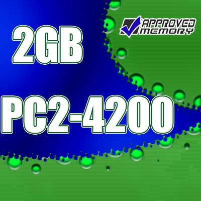 2GB RAM 200-pin PC2-4200 533MHz SODIMM Computer Laptop Memory