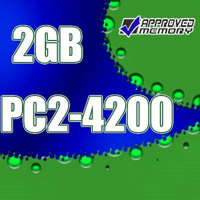 2GB RAM 200-pin PC2-4200 533MHz SODIMM Computer Laptop Memory