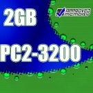 2GB RAM 200-pin PC2-3200 400MHz SODIMM Memory Kit for Dell Latitude D610