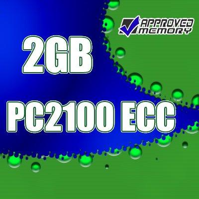 2GB RAM 184-pin PC2100 266MHz  ECC DIMM Memory for Hewlett Packard Workstation  xw5000
