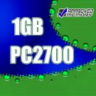 1GB RAM 200-pin PC2700 333MHz SODIMM Computer Laptop Memory