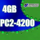 4GB (2x2GB) RAM PC2-4200 DDR2 533MHz Apple Power Mac G5 2GHz Dual Core (M9590LL/A) Memory Kit