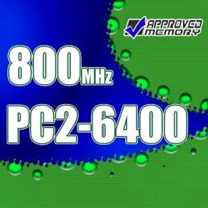 4GB 2x 2GB Fully Buffered PC2-6400 800MHz ECC DIMM Memory for Apple Mac Pro 3.0GHz 8-Core