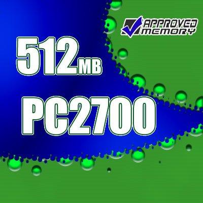 512MB RAM 200-pin PC2700 333MHz  SODIMM Gateway MX6030 Computer Laptop Memory