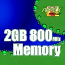 2GB RAM PC2-6400 800MHz DDR2-800 SDRAM 200 Pin SODIMM  Memory Module