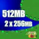 512MB RAM 2 x 256MB Memory IBM THINKPAD T20 T21 T22