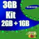 Samsung 3GB (2GB = 1GB )  667MHz Memory Kit for Apple iMac Intel