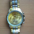 Golden Luxury Men's WristWatch