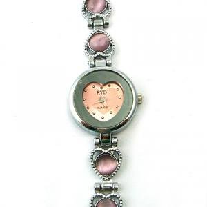 Cute Heart Fashion Wristwatch -Ladies