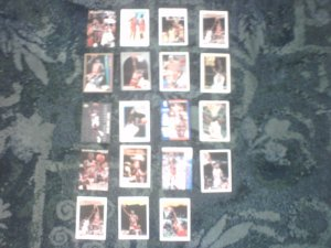 Michael Jordan Basketball Cards.