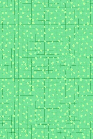 Andover Little Blessings Green Confetti Squares Cotton Quilt Fabric