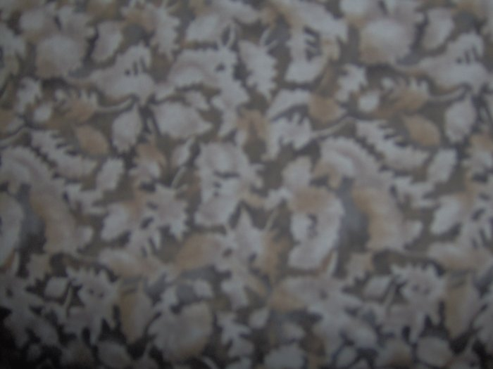 Timeless Treasures Brown Sepia Silhouettes Fabric Fat Quarter FQ