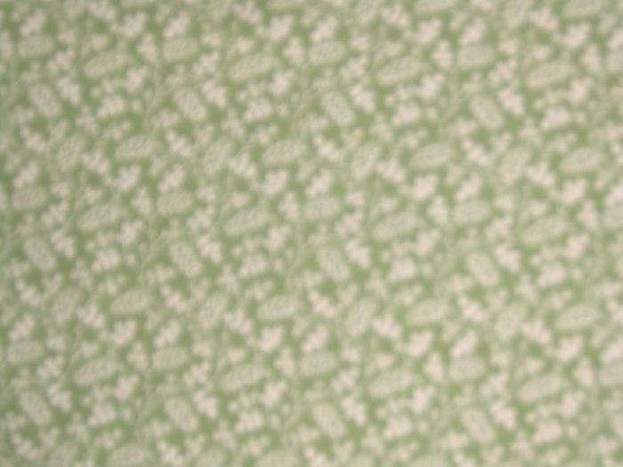 CHANTECLAIRE CLASSIC BLOOMS Flowers on Green REPRO QUILT FABRIC By the Yard BTY