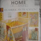 McCall Home Decorating An American Tradition Nursery Pattern 3630