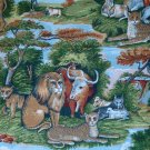 Concord American Folk Art Museum Jungle Safari Animals Fat Quarter FQ Cotton Quilt Fabric