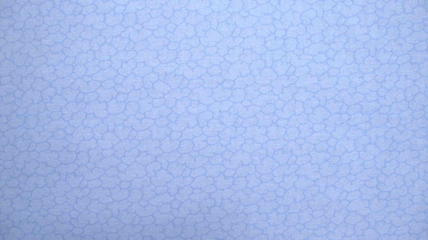 F8 Blue Tonal Puffy Shapes Allover Cotton Fabric Fat Eighth F8th