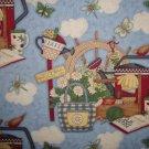 F8 SSI Debbie Mumm Gardening Cotton Fabric Fat Eighth F8th