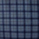Concord Blue White Black Plaid Fat Quarter FQ Fabric