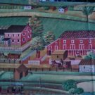 1/8 Yard Concord American Folk Art Museum Berks County Town Cotton Quilt Fabric Bolt End
