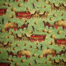 Bolt End Concord American Folk Art Museum Haying Time Cotton Quilt Fabric 1/4 Yard