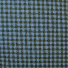 FQ Day in the Park Sage Green Gingham Cotton Fabric Fat Quarter