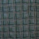FQ Green & Gold Basketweave Plaid Gingham Cotton Benartex Fabric Fat Quarter