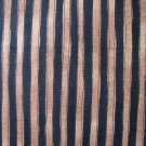 FQ Peaceful Journey Black and Brown Stripes Benartex Cotton Fabric Fat Quarter