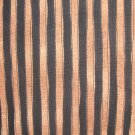 F8 Peaceful Journey Black and Brown Stripes Benartex Cotton Fabric Fat Eighth F8th