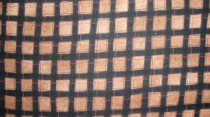 FQ Peaceful Journey Black Red and Tan Brown Plaid Cotton Benartex Fabric Fat Quarter