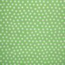 1 3/8 Yard Just 4 Fun White Dots on Light Green Cotton Fabric Maywood Studios Bolt End
