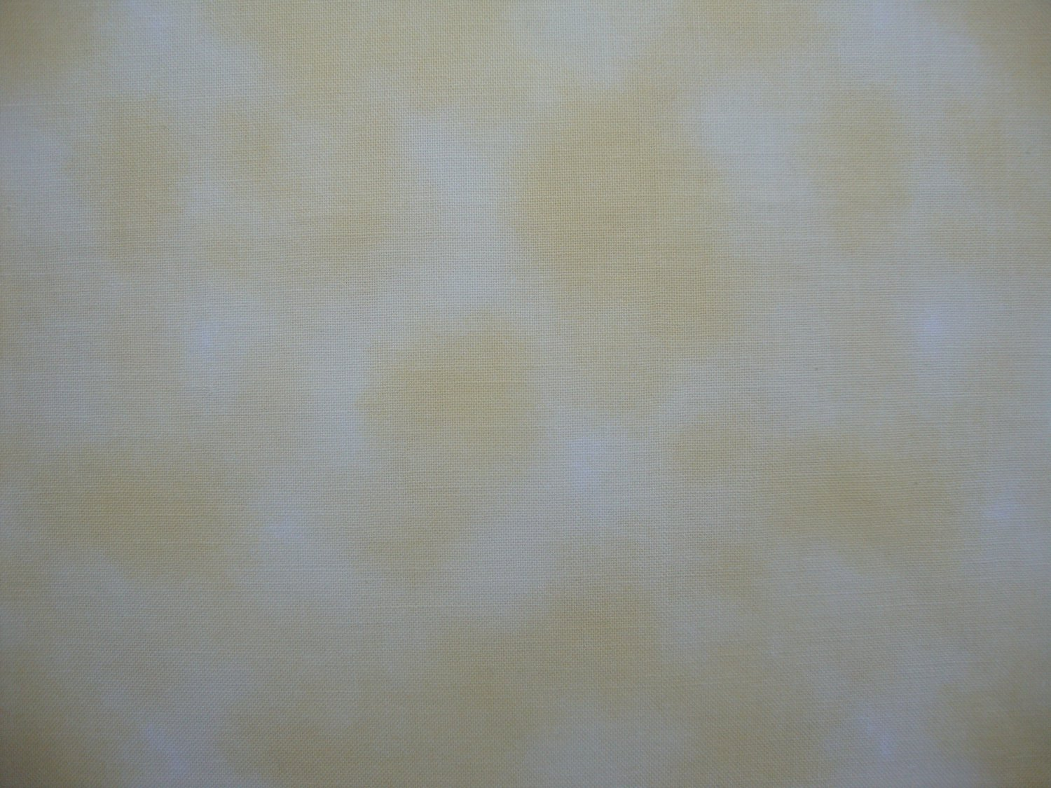 1 3/8+ Yard Bolt End Mottled Yellow Cotton Fabric from The World of Beatrix Potter Fabric Line