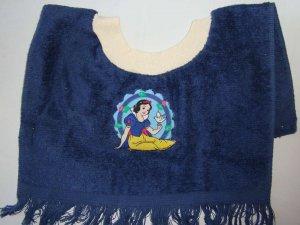 DISNEY PRINCESS Snow White with Dove Cameo BABY TERRY CLOTH BABY BIB