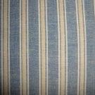 FQ Thimbleberries Daisy Days Blue & Tan Stripes RJR Lynette Jensen Fabric Fat Quarter