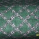 BTY RJR Few of My Favorite Things White Flower Lattice Repro Green Fabric By the Yard