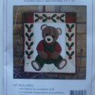 Beary Patch Teddy Bear Wallhanging Quilt Kit by Rachel's of Greenfield
