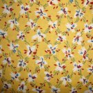 BTY Thimbleberries Daisy Days Flowers on Reproduction Yellow RJR Fabric by Lynette Jensen