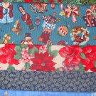 Christmas Design Strips / Scrap Bag Cotton 1/2 pound Holiday Fabric Lot Not Kids Theme