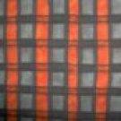 BTY South Sea Imports Teresa Kogut Boo Kitty Black Grey Orange Halloween Fabric By the Yard