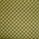 FQ SSI DEBBIE MUMM MUMMS THE WORD Yellow Green Black Bias Plaid FABRIC FAT QUARTER