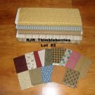 Thimbleberries +/- 16 Yards Quilt Fabric Lot #2 by Lynnette Jensen for RJR Fabrics
