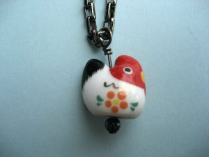 A Kaui'n Rooster Necklace