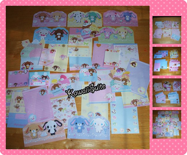 Sugarbunnies Grabbie - Loose Letter Sets, Memo Sheets, Stationery, Stationeries